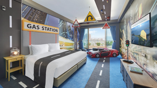 Racing Car Themed Room Package Newly Launched